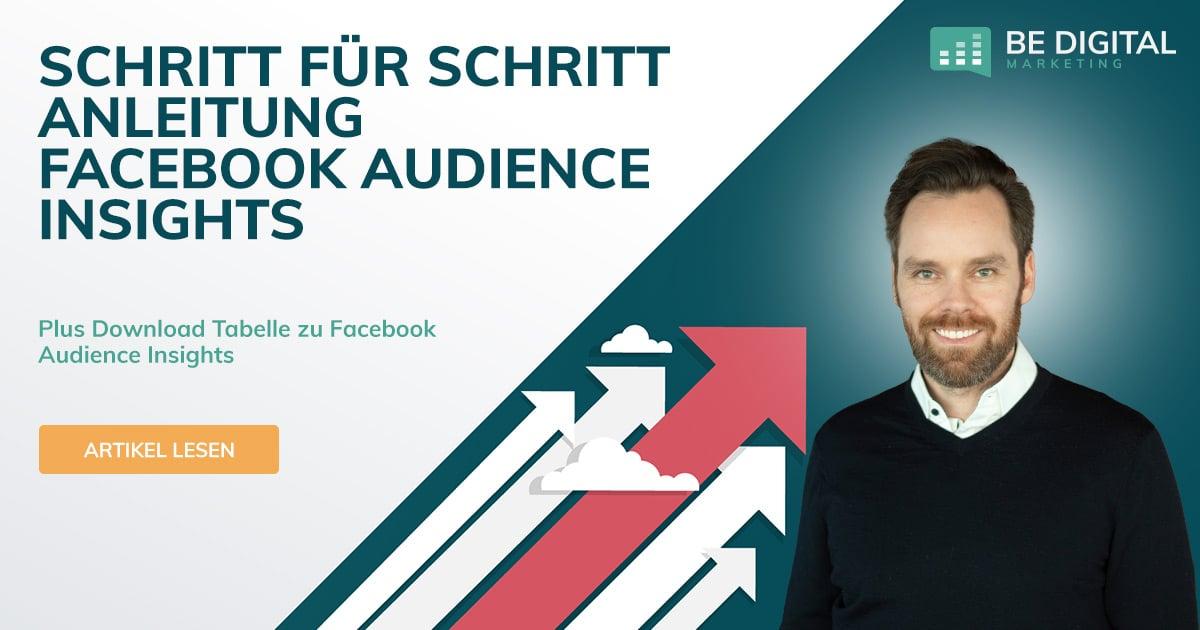 Audienceinsights BE Digital Blog