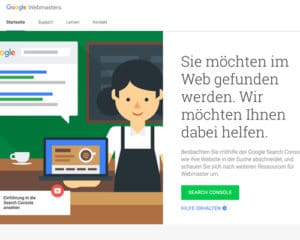 Google Webmasters - Tool zur Keyword-Recherche